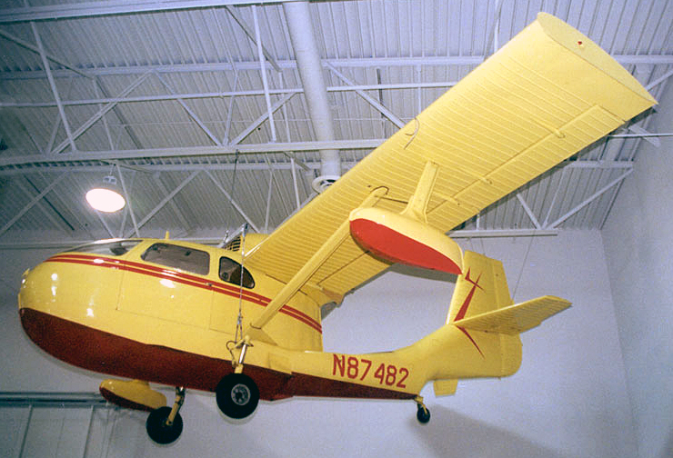 N87482 in The Hiller Aviation Museum