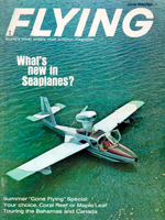 Flying Magazine June 1966 - The Cool World of Seaplanes